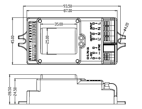 Led Drivers 0 10v Dimming Wiring Diagram