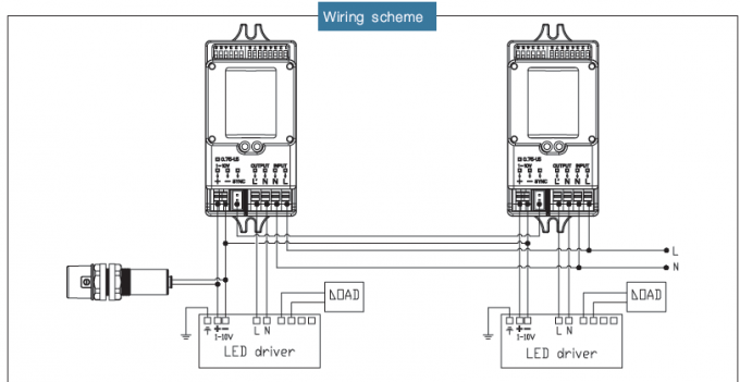 step dimming ballast wiring diagram