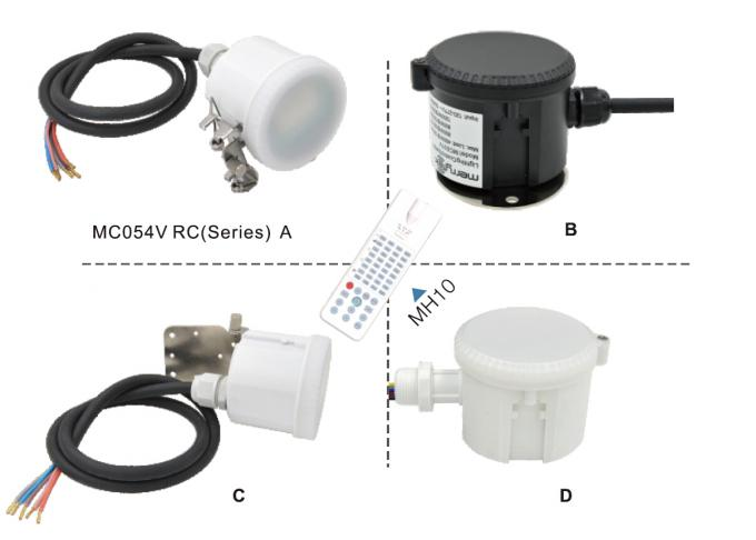 MC054V RC 2 Stand Alone Microwave Dimmable Motion Sensor IP65 120-277Vac For High Bay