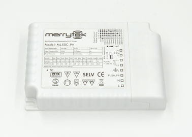 China Waterproof 50 Watt 1-10V Dimmable LED Driver 850mA For Down Light supplier