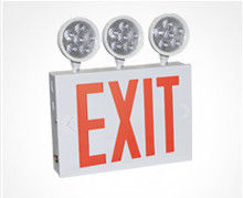 China Wall mounting Approved LED Exit Light white powder coated finish supplier