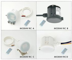 China MC054V RC +MH01 Microwave Motion Sensor IP65 120-277Vac for High Bay Light supplier