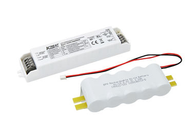 China LED Emergency Driver Power 6W Emergency Time 1.5h & External NiCd Battery KE003-06M090NE factory