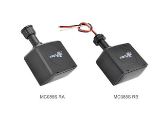 RED Approval IP65 Needle / Lead Connector Microwave Motion Sensor ON / OFF Function for Flood Light MC085S RA /  RB