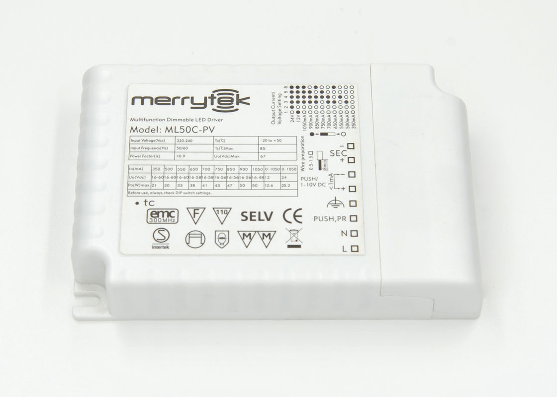 Waterproof 50 Watt 1 10v Dimmable Led Driver 850ma For Down Light 0 Dimming Downlight Wiring Diagram