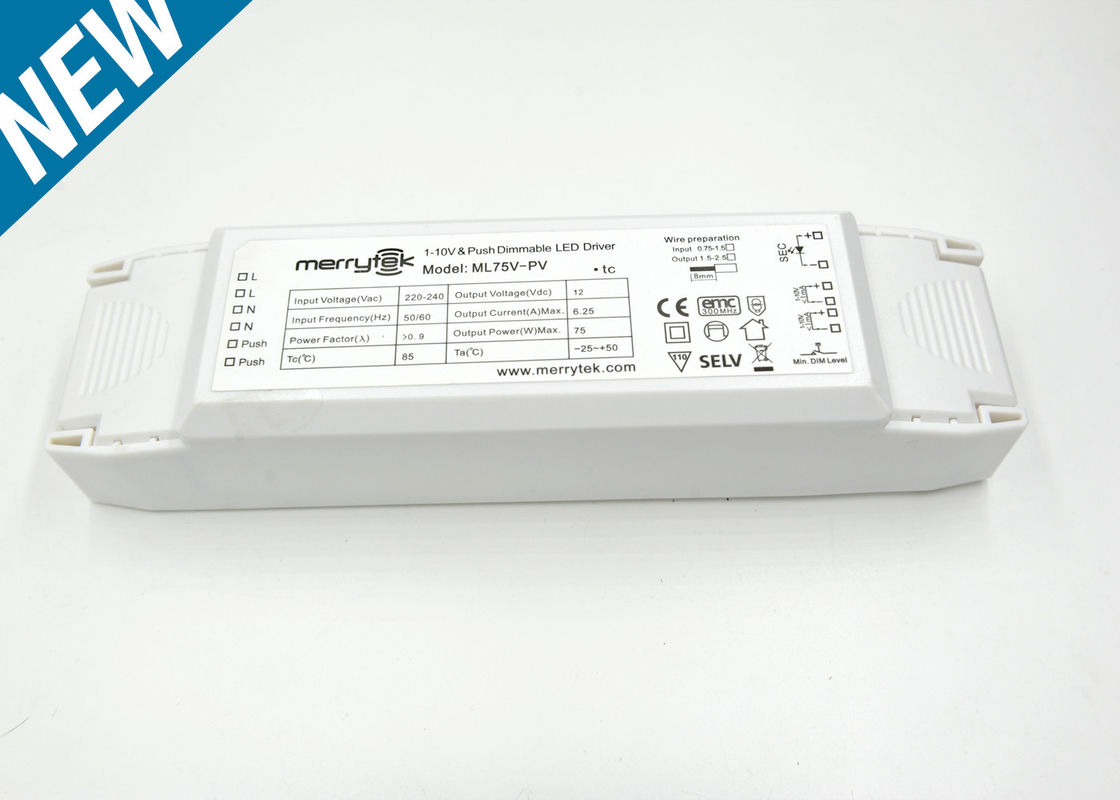 Professional Constant Voltage Dimmable Led Driver 0 10v 75w 220x58x40mm 10vdc Wiring Diagram