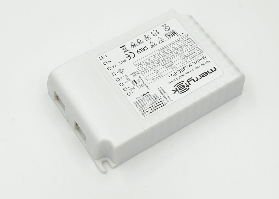 1x30w Push 1 10v Dimmable Led Driver 250 700ma Electronic 0 Dimming Downlight Wiring Diagram