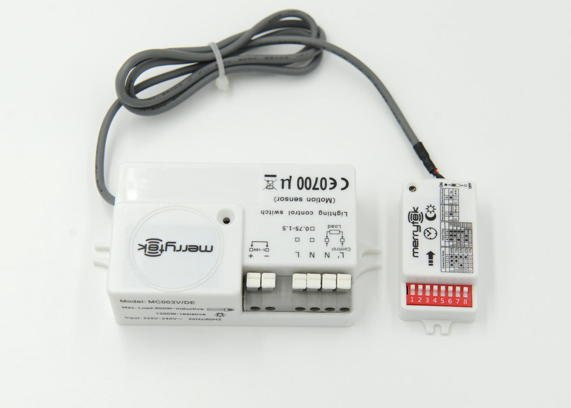 800W 5 8G Lux Control Microwave Motion Sensor for Gas Station Lighting