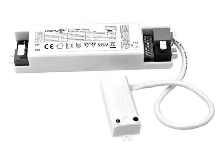 Integrated Dimmable Motion Sensor 16W Max Full Load Output Power IP20 Protection