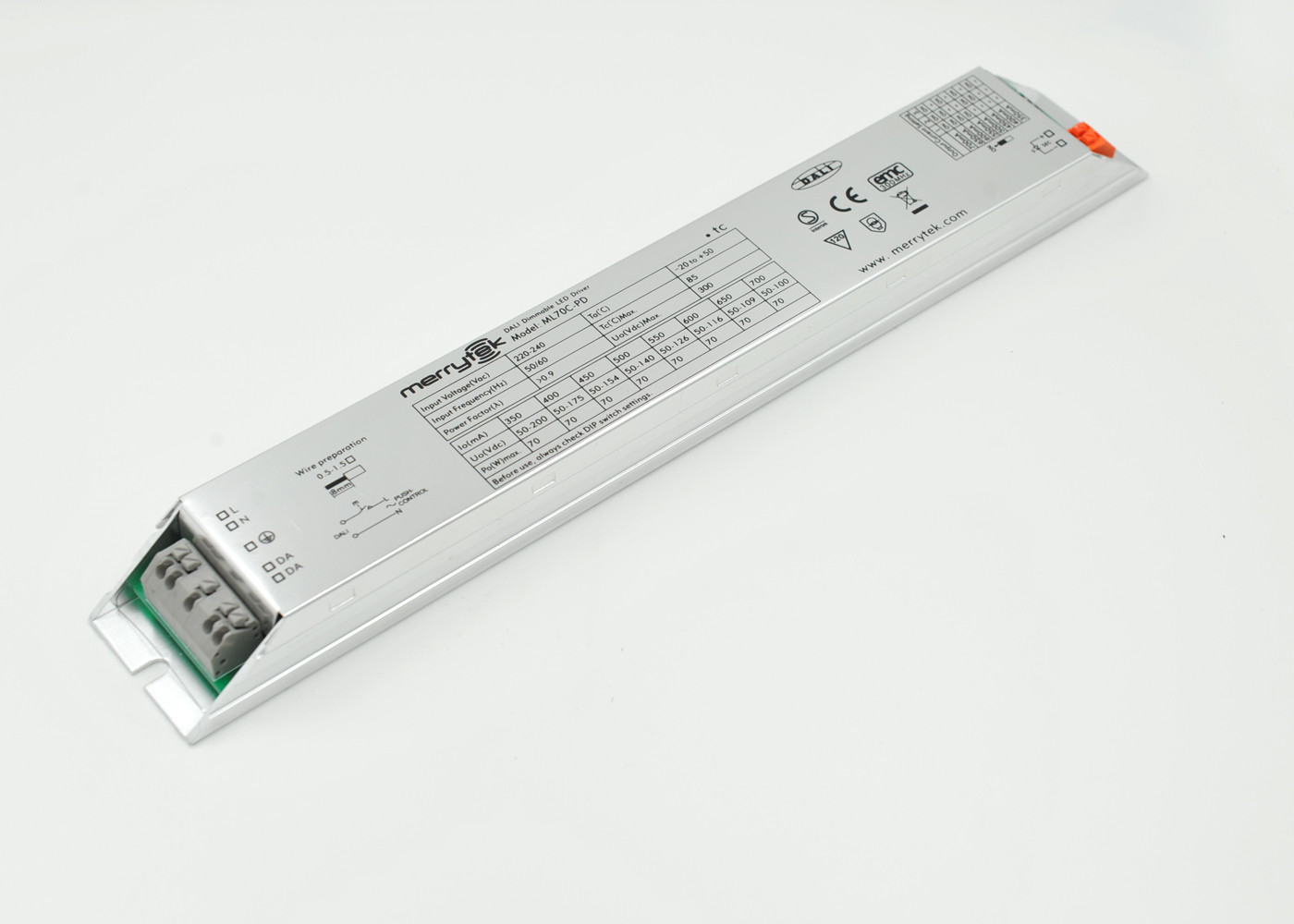 High Efficiency Outdoor 70W LED Driver / Dimmable LED ...