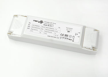 China Waterproof 12v Constant Voltage LED Driver / Triac Dimmer LED Driver 65w factory