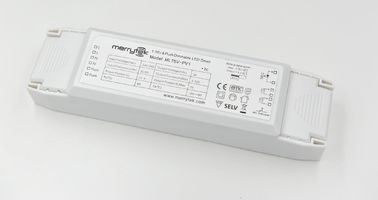 China IP20 Constant Voltage Dimmable LED Driver 1-10V , PUSH DIM LED Driver 24Vdc 75w factory