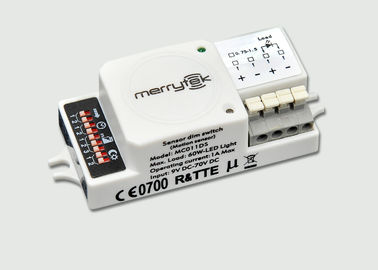 China Microwave Motion Sensor MC011DS / Movement Detector On-off Control With DC 3-36v Operated factory