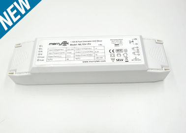 Professional Constant Voltage Dimmable LED Driver 0-10V 75w 220x58x40mm