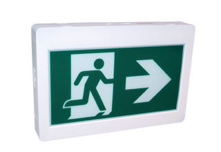 Running man plastic housing emergency exit lights applied in corridor exit
